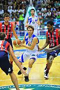 DESCRIZIONE : Sassari Lega A 2012-13 Dinamo Sassari Angelico Biella<br /> GIOCATORE : Travis Diener<br /> CATEGORIA : Palleggio<br /> SQUADRA : Dinamo Sassari<br /> EVENTO : Campionato Lega A 2012-2013 <br /> GARA : Dinamo Sassari Angelico Biella<br /> DATA : 30/09/2012<br /> SPORT : Pallacanestro <br /> AUTORE : Agenzia Ciamillo-Castoria/M.Turrini<br /> Galleria : Lega Basket A 2012-2013  <br /> Fotonotizia : Sassari Lega A 2012-13 Dinamo Sassari Angelico Biella<br /> Predefinita :
