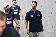 Brian Sacchetti<br /> Nazionale Italiana Maschile Senior - Trentino Basket Cup 2019<br /> Italia Italy Romania Romania<br /> FIP 2019<br /> Trento, 30/07/2019<br /> Foto M.Ceretti / Ciamillo-Castoria