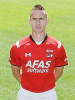 Donny Gorter during the team photocall of AZ Alkmaar on July 17, 2015 at Afas Stadium in Alkmaar, The Netherlands