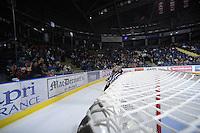 KELOWNA, CANADA, FEBRUARY 11: Kamloops Blazers visit the Kelowna Rockets on February 11, 2012 at Prospera Place in Kelowna, British Columbia, Canada (Photo by Marissa Baecker/www.shootthebreeze.ca) *** Local Caption ***