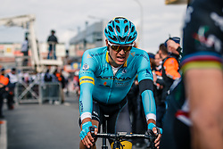 FUGLSANG Jakob of Astana Pro Team after the UCI WorldTour 103rd Liège-Bastogne-Liège from Liège to Ans with 258 km of racing at Ans, Belgium, 23 April 2017. Photo by Pim Nijland / PelotonPhotos.com | All photos usage must carry mandatory copyright credit (Peloton Photos | Pim Nijland)