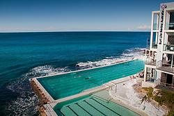 Saltwater Pools at Bondi Icebergs, Bondi Beach, Sydney, New South Wales, Australia