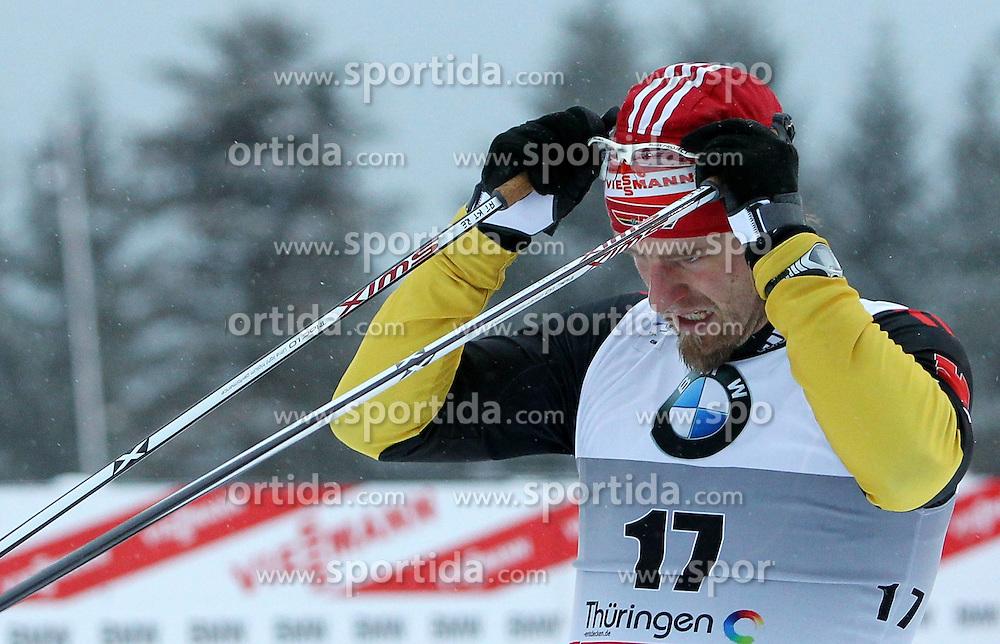 31.12.2011, DKB-Ski-ARENA, Oberhof, GER, Viessmann Tour de Ski 2011, FIS Langlauf Weltcup, Verfolgung Herren, im Bild Axel Teichmann (GER) // during men's pursuitof Viessmann Tour de Ski 2011 FIS World Cup Cross Country at DKB-SKI-Arena Oberhof, Germany on 2011/12/31. EXPA Pictures © 2011, PhotoCredit: EXPA/ nph/ Hessland..***** ATTENTION - OUT OF GER, CRO *****