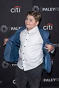 "SPENCER ALLPORT attends the NBC Presentation of ""Perfect Harmony"" at the 2019 PaleyFest Fall TV Previews at the Paley Center for Media in Beverly Hills, California"