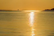 "Long Beach Bar ""Bug"" Light, Lighthouse, Greenport, New York, Sunrise, Gardiners Bay"