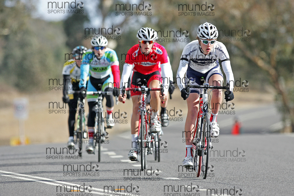(10 Jul 2011---Canberra, Australia) Karl MICHELIN-BEARD  competing in the Sunday morning road race in the DBR Australia 2011 Junior and Women's Canberra Tour at the Stromlo Forest Park circuit in Canberra, ACT. Copyright Sean Burges / Mundo Sport Images, 2011