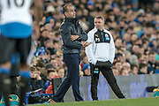Roberto Martínez (Everton) during the Barclays Premier League match between Everton and Newcastle United at Goodison Park, Liverpool, England on 3 February 2016. Photo by Mark P Doherty.