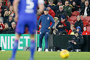 Middlesbrough Manager Tony Pulis during the EFL Sky Bet Championship match between Middlesbrough and Ipswich Town at the Riverside Stadium, Middlesbrough, England on 29 December 2018.