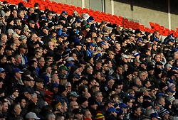 Cardiff City fans watch the match from the stands - Mandatory by-line: Nizaam Jones/JMP - 17/02/2018 -  FOOTBALL - Cardiff City Stadium - Cardiff, Wales -  Cardiff City v Middlesbrough - Sky Bet Championship
