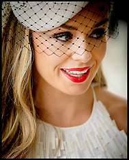 JUN 07 2014 Katherine Jenkins at the Derby