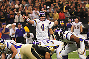 NFC Championship Game Saints Vikings. Saints beat the Vikings in OT time Sunday Jan 24, 2010 in the SuperDome in New Orleans Louisiana, 28-31 with a field goal in OT. advance to Super Bowl 44 in Florida. ALL IMAGES ©SUZI ALTMAN/Suzisnaps.com IMAGES ARE NOT PUBLIC DOMAIN.call or email for use 601-668-9611 suzisnaps@aol.com