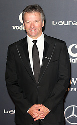 STEVE WAUGH arrives at the Laureus Sport Awards held at the Queen Elizabeth II Centre, London, Monday February 6, 2012. Photo By i-Images