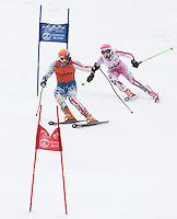 Francis Piche Invitational giant slalom for J5 at Gunstock March 17, 2012.