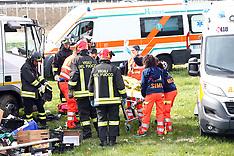 20170315 INCIDENTE SCONTRO AUTO CAMION UCCELLINO