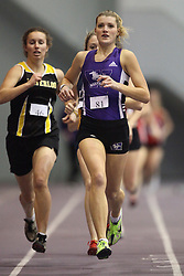 London, Ontario ---11-01-22---   Laura Desjardins of the Western Mustangs competes at the 2011 Don Wright meet at the University of Western Ontario, January 22, 2011..GEOFF ROBINS/Mundo Sport Images.