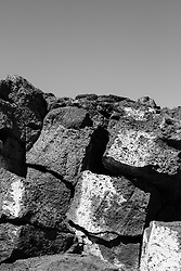 Volcanic rock formations found in New Mexico