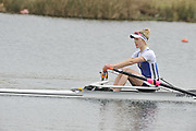 Eton, United Kingdom  GBR LW1X. Laura GREENHAIGH at the start of his heat of the women's lightweight single sculls at the 2012 GB Rowing Senior Trials, Dorney Lake. Nr Windsor, Berks.  Saturday  10/03/2012  [Mandatory Credit; Peter Spurrier/Intersport-images]