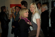 GEORGINA BOUZOVA AND HELEN NILAND, Room- An exhibition of work by Natasha Law. Eleven. Simultaneously at 121 Charing Cross Rd. and 11 Eccleston st. London. 16 January 2008. -DO NOT ARCHIVE-© Copyright Photograph by Dafydd Jones. 248 Clapham Rd. London SW9 0PZ. Tel 0207 820 0771. www.dafjones.com.