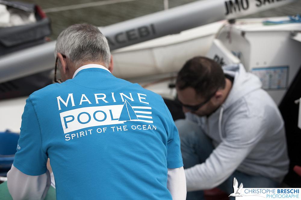 Ambiance Ponton à la Base des sous marins de keroman