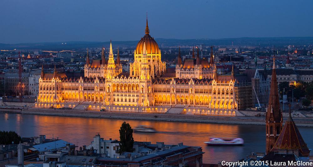 Parliament Building, Budapest Hungary