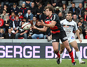 Luke Burgess attacks for Toulouse. Stade Toulousain v Brive, 24eme Journee, Top 14. Stade Ernest Wallon, Toulouse, France, 21 Avril 2012.