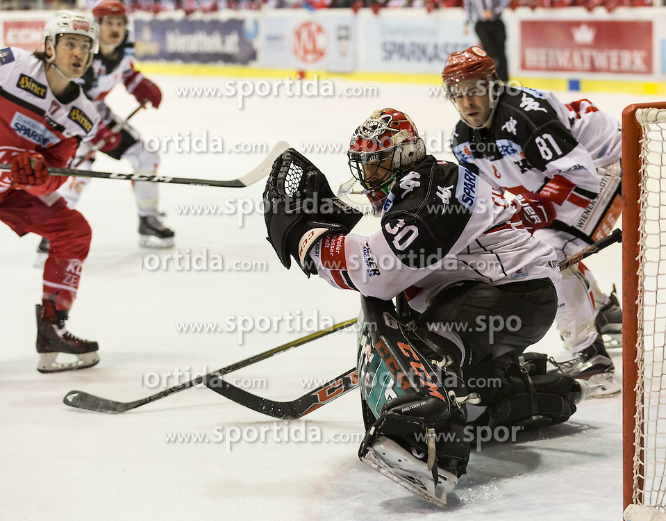 17.02.2017, Stadthalle, Klagenfurt, AUT, EBEL, EC KAC vs HC TWK Innsbruck, 52. Runde Plazierungsrunde, im Bild // during the Erste Bank Eishockey League 52nd match at preliminary round betweeen KAC vs HC TWK Innsbruck at the City Hall in Klagenfurt, Austria on 2017/02/17. EXPA Pictures © 2017, PhotoCredit: EXPA/ Gert Steinthaler