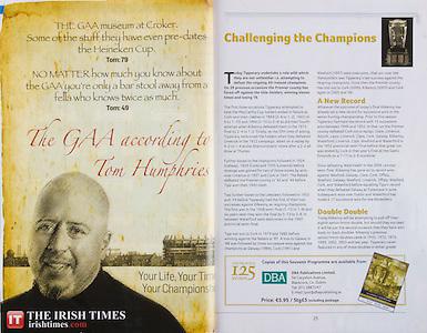 All Ireland Senior Hurling Championship Final,.06.09.2009, 09.06.2009, 6th September 2009, 6092009AISHCF1, Minor Galway 2-15, Kilkenny 2-11, Senior Kilkenny 2-22, Tipperary 0-23, The Irish Times,