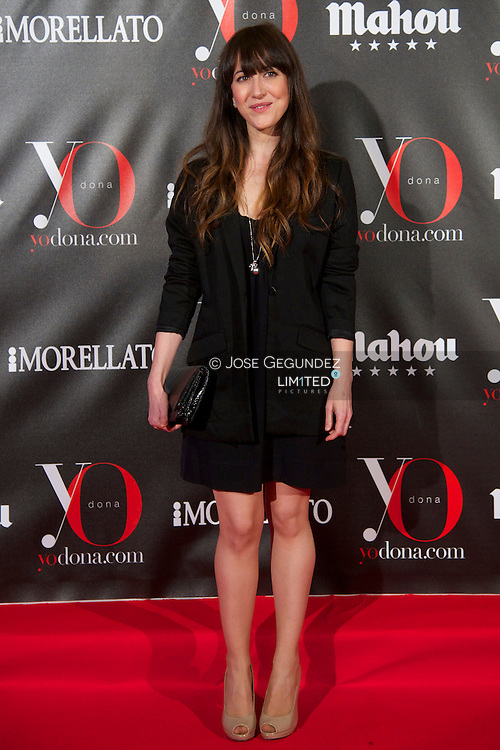 Mai Meneses 'Nena Daconte' attends 'Yo Dona' Magazine's Mask Party at Casino on 18 February, 2013 in Madrid