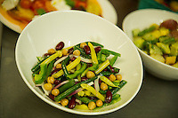 Mrs's Miner's 4 bean salad recipe is a favorite at Moulton Farm in Meredith prepared by chef Jonathan Diola.  (Karen Bobotas/for the Laconia Daily Sun)