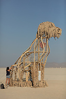 DOT the Dog by: TBC from: Los Angeles, CA year: 2018 My Burning Man 2018 Photos:<br />