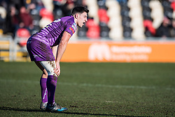 Ebbw Vale's Dominic Franchi - Mandatory by-line: Craig Thomas/Replay images - 04/02/2018 - RUGBY - Rodney Parade - Newport, Wales - Newport v Ebbw Vale - Principality Premiership