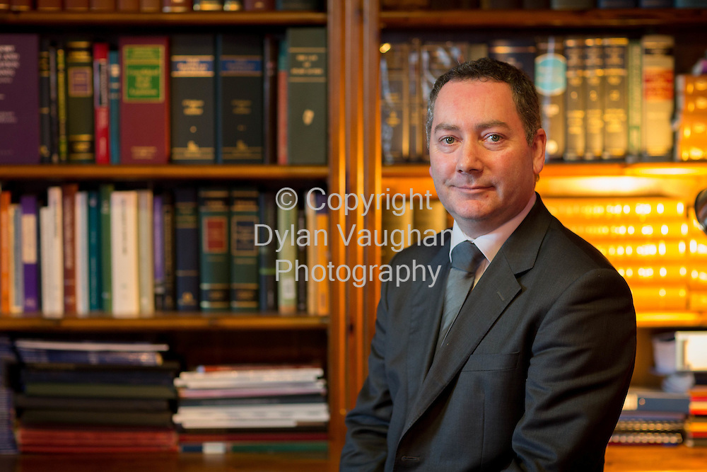8-1-15<br /> Victor Clarke pictured in his office in Carlow.<br /> Picture Dylan Vaughan.