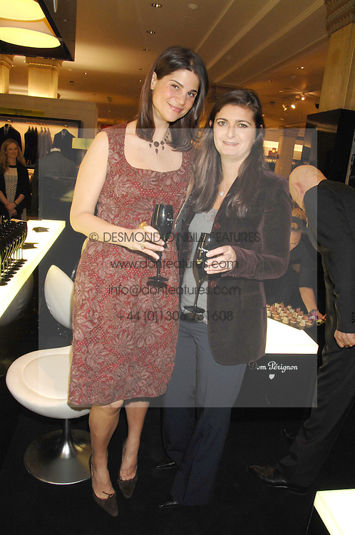 KATRINA PAVLOS and VANESSA WINGATE at a party to celebrate the 5th anniversary of Grand Classics held at the Dom Perignon OEnotheque Bar at Harrods, Knightsbridge, London on 14th February 2008.<br /><br />NON EXCLUSIVE - WORLD RIGHTS