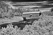 McCann or Didgeguash River #4  covered bridge (1938)<br />St. Martins<br />New Brunswick<br />Canada<br />St. Martins<br />New Brunswick<br />Canada