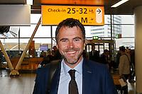 BELGRADO - 16-09-2015, aankomst vertrek AZ - FK Partizan, Partizanstadion, Assistent trainer Dennis Haar.