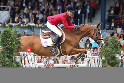 23.07.2017, Aachener Soers, Aachen, GER, CHIO Aachen, im Bild Gewinnerin der Herzen: 2. Platz fuer Luciana Diniz (POR) mit Ihrem Pferd Fit For Fun 13 // during the CHIO Aachen World Equestrian Festival at the Aachener Soers in Aachen, Germany on 2017/07/23. EXPA Pictures © 2017, PhotoCredit: EXPA/ Eibner-Pressefoto/ Roskaritz<br /> <br /> *****ATTENTION - OUT of GER*****