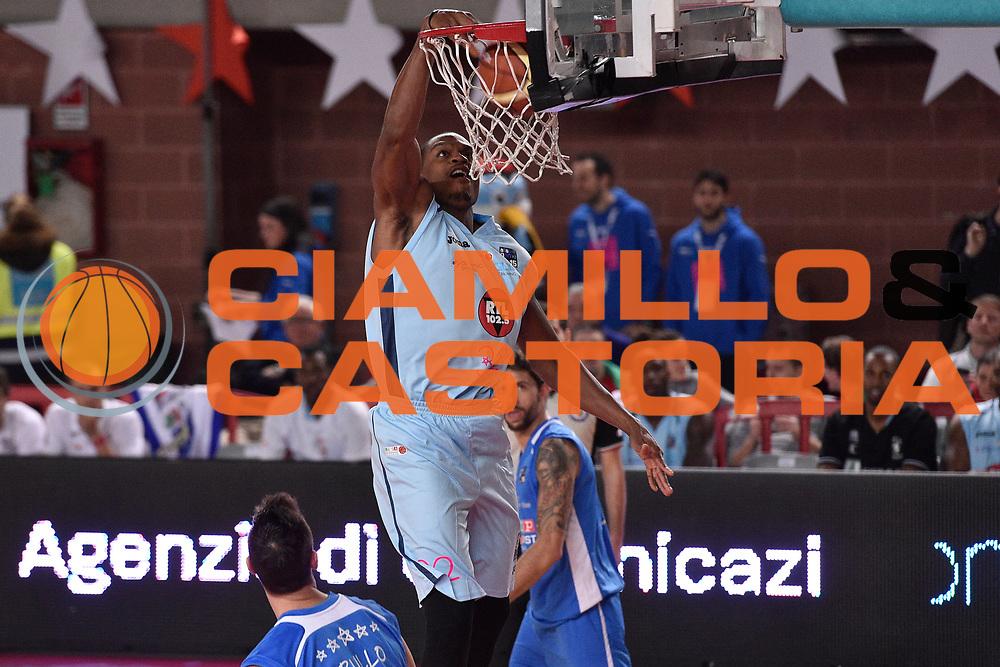 DESCRIZIONE : Mantova LNP 2014-15 All Star Game 2015<br /> GIOCATORE : Brownlee Justin<br /> CATEGORIA : Schiacciata<br /> EVENTO : All Star Game LNP 2015<br /> GARA : All Star Game LNP 2015<br /> DATA : 06/01/2015<br /> SPORT : Pallacanestro <br /> AUTORE : Agenzia Ciamillo-Castoria/ GiulioCiamillo<br /> Galleria : LNP 2014-2015 <br /> Fotonotizia : Mantova LNP 2014-15 All Star game 2015<br /> Predefinita :