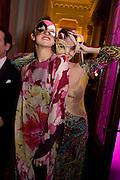 ELARIA BUSCETTI; FRANCESCA FEDANZA, Francesca Bortolotto Possati, Alessandro and Olimpia host Carnevale 2009. Venetian Red Passion. Palazzo Mocenigo. Venice. February 14 2009.