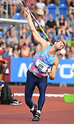 Andreas Hofmann (GER) places fourth in the javelin with a throw of 273-6 (83.37m) during the 56th Ostrava Golden Spike in an IAAF World Challenge meeting at Mestky Stadion in Ostrava, Czech Republic on Wednesday, June 28, 20017. (Jiro Mochizuki/Image of Sport)