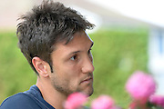 06.08.2014; Villmergen; Fussball Challenge League - FC Wohlen; Kevin Pezzoni (Daniela Frutiger/freshfocus)