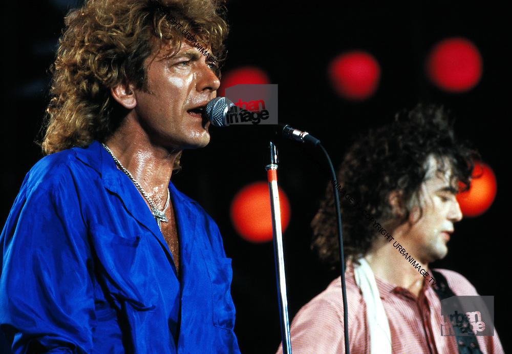 Robert Plant - Led Zeppelin - Live Aid USA - 1985