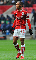 Bobby Reid of Bristol City - Mandatory by-line: Nizaam Jones/JMP - 17/03/2018 - FOOTBALL - Ashton Gate Stadium- Bristol, England - Bristol City v Ipswich Town - Sky Bet Championship