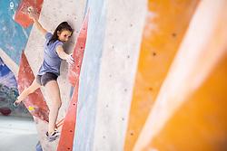 Lana Skusek during training competition of Slovenian National Climbing team before new season, on June 30, 2020 in Koper / Capodistria, Slovenia. Photo by Vid Ponikvar / Sportida