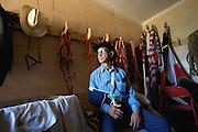 VERENIGDE STATEN-ANGOLA-Louisiana State Prison Rodeo. Randy Ledet (60) kan niet meedoen vanwege een schouderblessure. COPYRIGHT GERRIT DE HEUS, UNITED STATES-ANGOLA- Angola Prison Rodeo. Photo: Gerrit de Heus