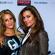 NLD/Amsterdam/20130916 -  Modeshow Jos Raak in het Conservatorium hotel, Chantal Bles en Quinty Trustfull