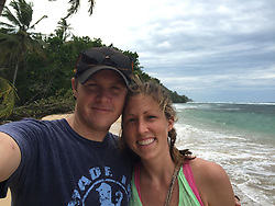 EXCLUSIVE: How about owning your own tropical Caribbean luxury resort for just $10. American couple Suzanne and Dave Smith are selling off their incredible Casa Cayuco Eco Adventure Lodge, in Bocas del Toro, Panama, Central America. But instead of listing their stunning multi-million-pound island getaway for sale they are offering the chance for anyone who buys a $10 ticket to win their extraordinary lifestyle and profitable business. Dave and Suzanne have spent five years turning a former rustic lodge into one that has just been voted number one resort on TripAdvisor in Panama. Their incredible two-acre slice of heaven is bordered by sloth-filled rainforest to the rear and crystal clear coral sea to the front. The lucky winner of the 24-guest resort will become owner of four stand-alone cabins, a main lodge, two lodge suites, and an air-conditioned luxury owner's suite designed by Dave and Suzanne themselves and built by skilled local carpenters. Outside, Casa Cayuco comes with its own jetty and thatch covered sun terrace as well as everything you need to run a business, including commercial kitchen communication tower, laundry and maintenance building and THREE power boats, each over 23-foot long. Kayaks, snorkelling, spear fishing and paddle boards and surf gear are also ready and waiting to be used by a new owner and guests alike. And if that's not enough, British competition organisers WinThis.Life https://winthis.life/index.aspx# are offering a $50,000 cash injection to welcome the new owners. All those wishing to take part have to do is buy one or more tickets and play a spot-the-ball-type competition on the website. Entries are being taken extension until April 11. Dave, 35, and Suzanne, 33, first arrived on the island in 2013 with just seven suitcases having decided to sell up from their home and corporate lives near Detroit, Michigan, USA. 16 Feb 2018 Pictured: Pic shows stunning Dave and Suzanne Smith at their Caribbean resort Casa Cayuco in Panama wh