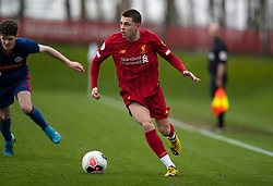LIVERPOOL, ENGLAND - Monday, February 24, 2020: Liverpool's Adam Lewis during the FA Premier League match between Liverpool FC and West Ham United FC at Anfield. (Pic by David Rawcliffe/Propaganda)