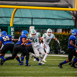 During a high school football jamboree with Isidore Newman at Lupin Field, in New Orleans, La on August 24, 2018. James Downing