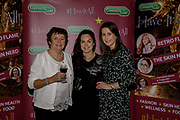 Mary Byrne, Lourda Byrne and Olivia Byrne, at the Connacht Gold annual 'Have It All!' food, fashion and wellness event in the Galmont Hotel & Spa, Galway.<br /> Photo: James Connolly<br /> 29NOV18