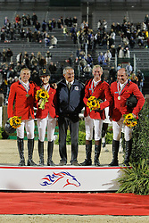 Team Belgium bronze medal<br />